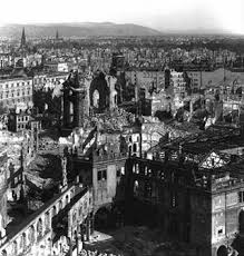 What was left of a part of Dresden