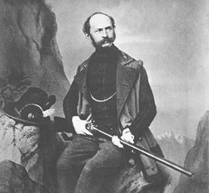 Maximilian, father of Ludwig II, looking for something to kill / unofficial royalty.com
