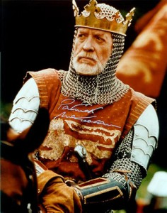 Edward I as acted by the great Patrick McGoohan in 'Braveheart' / wordpress.com