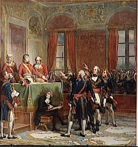 Bonaparte is welcomed as First Consul