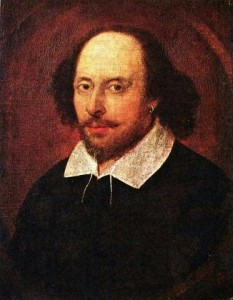 One of the few existing likenesses of Shakespeare / de.wikipedia.org