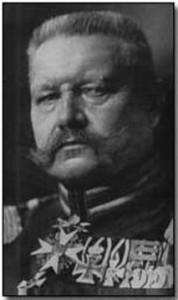 Hindenburg, master strategist / en.wikipedia.org