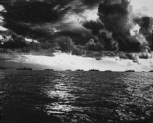 US armada moving towards Leyte / en.wikipedia.org