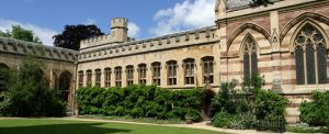 The Old Library at Balliol, an Oxford college founded by the father of John Balliol / balliol.ox.ac.uk