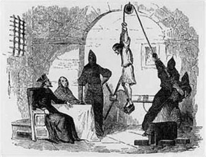 Popular conception of question time in the Spanish Inquisition / newsbiscuit.com