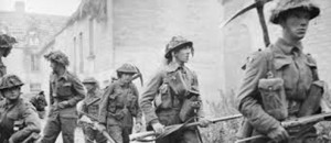 British and Commonwealth soldiers in Caen, 1944 /iwm.org.uk