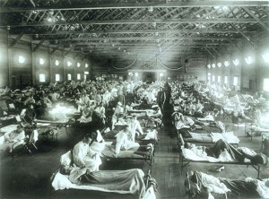 Mass treatment for influenza in the USA / en.wikipedia.org
