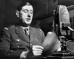 De Gaulle broadcasts from the BBC in London / en.wikipedia.org