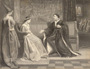 Henry V wooing Catherine of Valois / byronkho.com