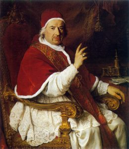 Benedict XIV, from a painting by Benoit / en.wikipedia.org