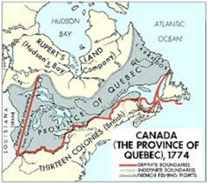 1774: hundreds of anti.Revolution familes leave the Colonies for Canada / travelanguist.com