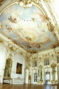 One of the 126 rooms in a Hungarian Esterhazy palace / Pinterest.com